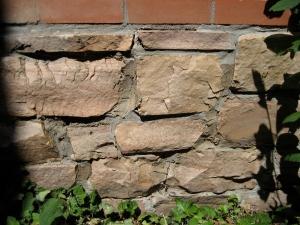 Rubble-stone-foundation