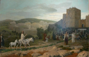 Entry of the Christ in Jerusalem, by Jean-Léon Gérôme