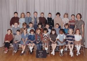 First Grade Class Siebert Elementary School 1965