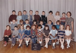 First Grade Class Siebert Elementary School 1965